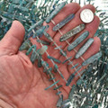 6mm by 18mm to 6mm by 25mm Labradorite Beads