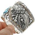 Gemstone Silver Gold Mens Bracelet 25154