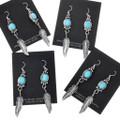 Kingman Turquoise Earrings 27507