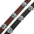 Sterling Bear Paw Hatband 23103