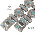 Traditional Full Size Concho Belts 16833