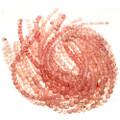 10mm Rose Quartz Glass Beads 16 inch Strand