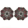 Garnet Onyx Post Earrings 28870