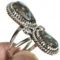 Ladies Turquoise Pointer Ring 28516