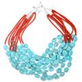 Multistrand Navajo Beaded Necklace 22338