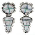 Southwest Opal Drop Post Earrings 27947