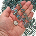 6mm by 13mm to 6mm by 30mm Labradorite Beads 16 inch Strand