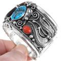 Southwest Sterling Bear Claw Jewelry 13847