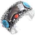 Bear Claw Mens Cuff Bracelet 13847