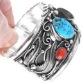 Turquoise Bear Claw Mens Cuff 13847