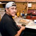 Navajo jeweler Garrison Boyd 13847