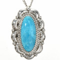 Traditional Indian Sterling Pendant 29175