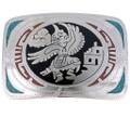Eagle Kachina Belt Buckle 23697