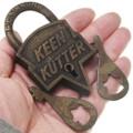 Brass Keen Kutter Old West Pad Lock 37102