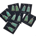 Native American Turquoise Silver Earrings 28569
