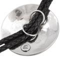 Native American Traditional Silver Bolo Tie 29607