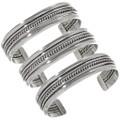 Handmade Navajo Silver Jewelry 12895