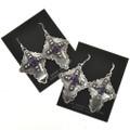Gemstone French Hook Earrings 28851