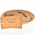 Handwoven Beargrass Yucca Indian Basket 22524