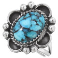 Navajo Turquoise Silver Ring 27217