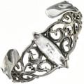 Native American Sterling Cuff Bracelet 29216