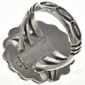 Navajo Sterling Gemstone Ring 28943