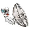 Turquoise Coral Attached Bracelet Set 24265