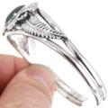 Sterling Gemstone Cuff Bracelet 22402