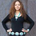 Sleeping Beauty Turquoise Concho Belt 21453