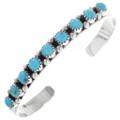 Navajo Turquoise Bracelet 21552
