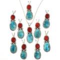 Sleeping Beauty Turquoise Pendants 29307