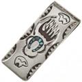 Navajo Bear Paw Money Clip 22836