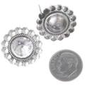 Sterling Native American Earrings 10658