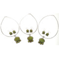 Gaspeite Necklace Sets 27699