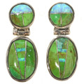 Gaspeite Opal Necklace Earrings Set 29679
