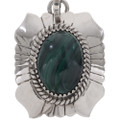 Navajo Gemstone Silver Necklace 19039