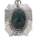 Navajo Gemstone Silver Necklace 19039