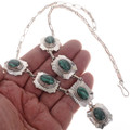Malachite Silver Southwest Jewelry 19039
