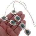 Malachite Silver Southwest Jewelry 19039