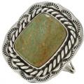 Green Turquoise Navajo Ring 15019
