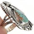 Ladies Turquoise Pointer Ring 27128