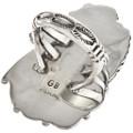 Sterling Silver Ladies Ring Navajo Artist Signed 27128