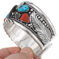 Turquoise Coral Mens Cuff 18936