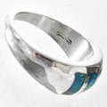 Inlaid Native American southwest Ring29527