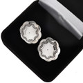 Southwest Sterling Concho Cuff Links 20889
