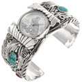 Sleeping Beauty Turquoise Coral Mens Watch 24488
