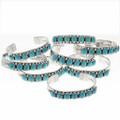Southwest Turquoise Bracelets  25686