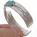 Natural Sonoran Turquoise Cuff 25686