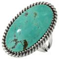 Green Turquoise Pointer Ladies Ring 28953