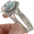 Inlaid Turquoise Silver Jewelry 28241